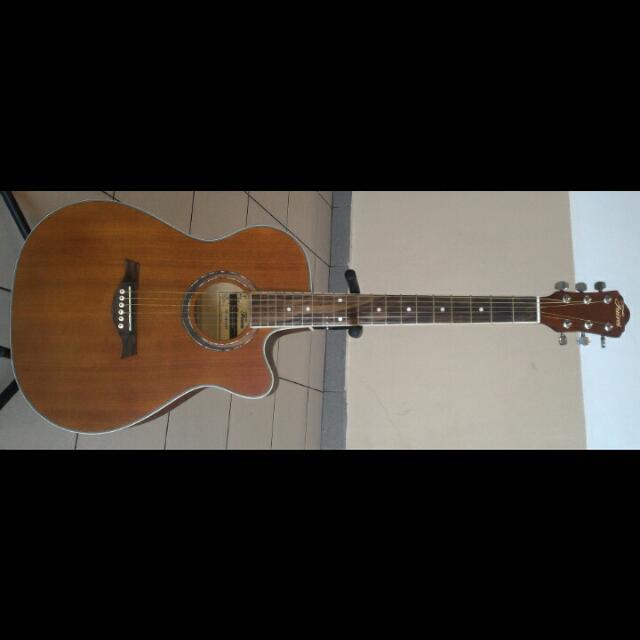 Faires Acoustic Guitar 40Inch #4045 Mahogany