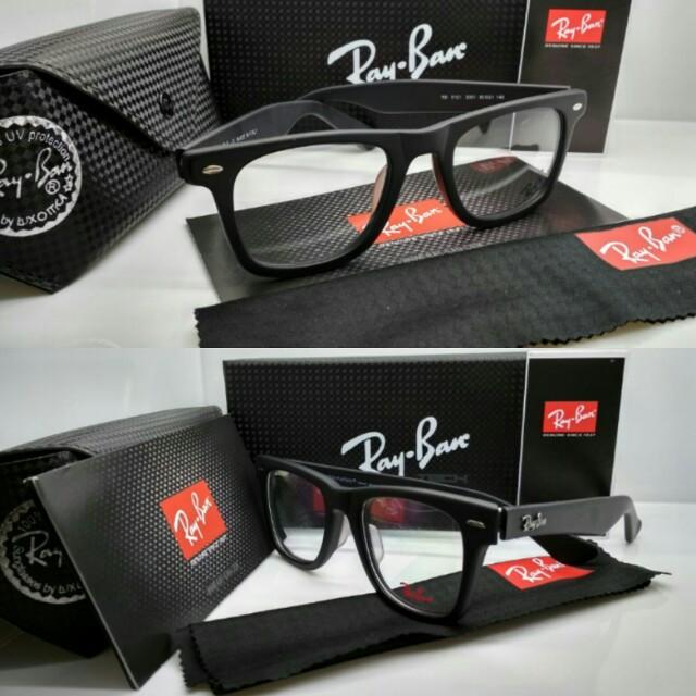 Frame lensa anti radiasi kacamata rayban wayfarer