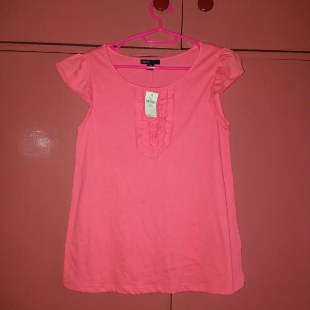 GAP kids pink top