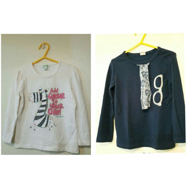 Girls Long Sleeves Size 100 / 3T