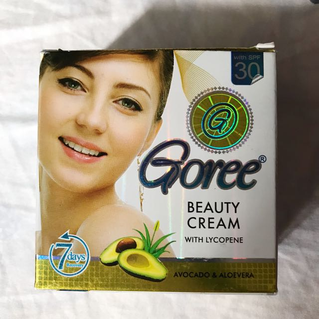Goree Whitening Radiance Night Beauty Cream