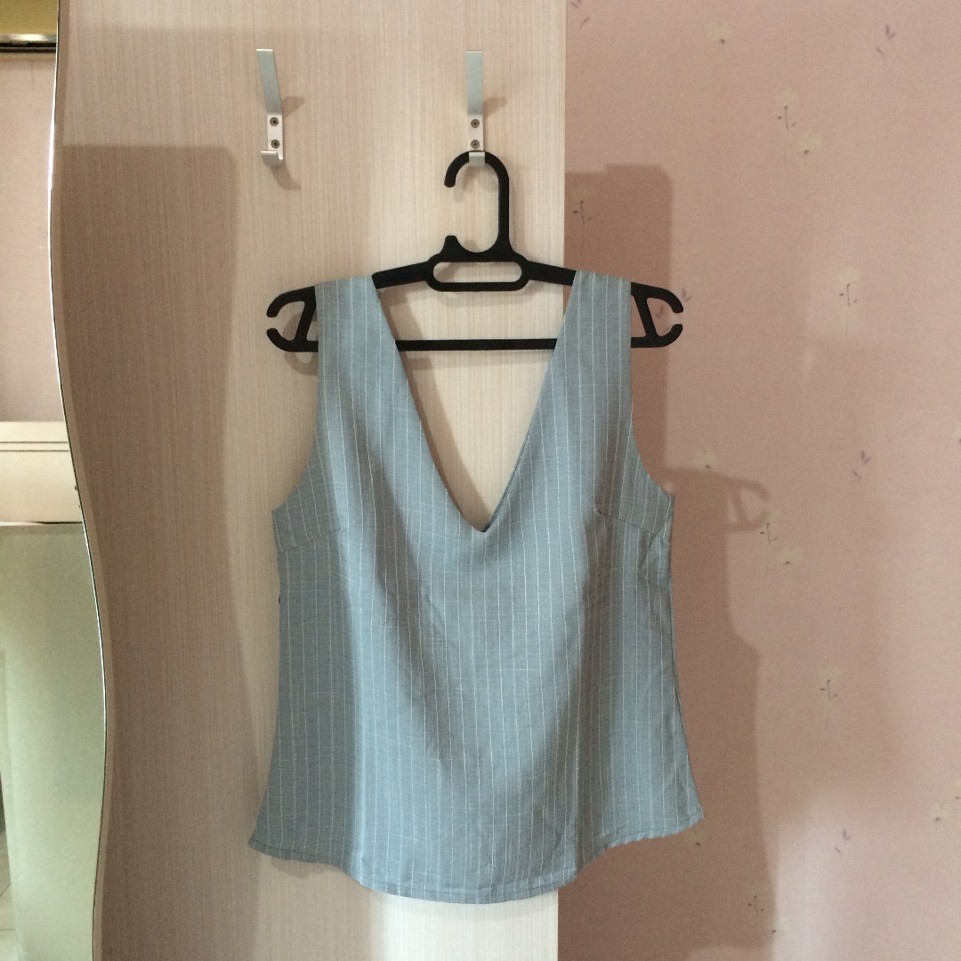 Gray Top Camisole