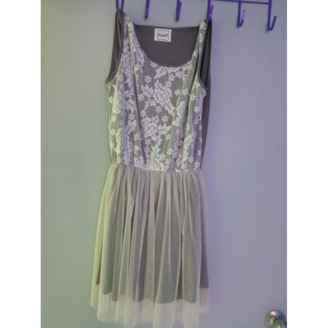 Grey Dress #MidJan55