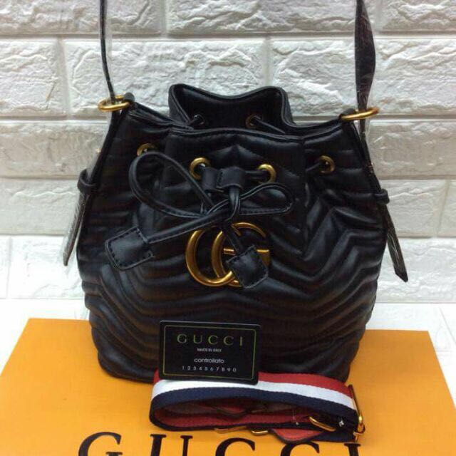 Gucci Leather Marmont