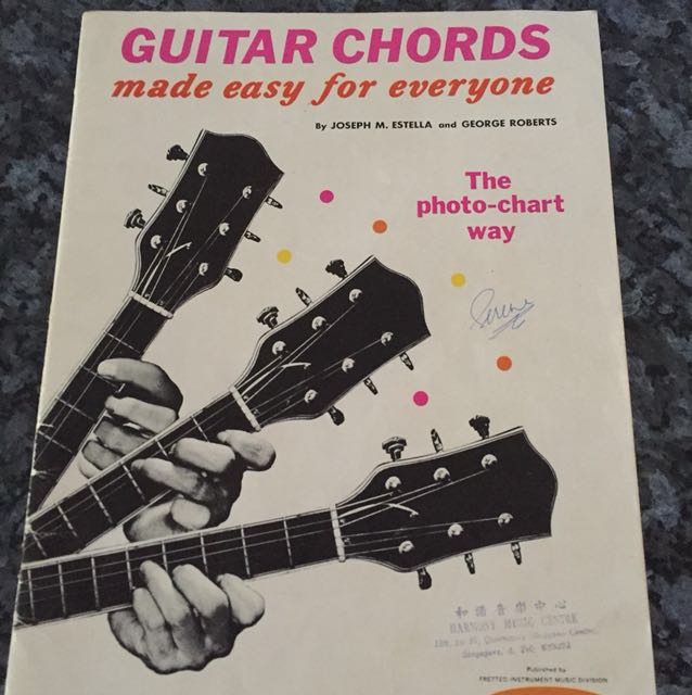 Guitar Chords made easy for everyone, Books & Stationery, Fiction on ...
