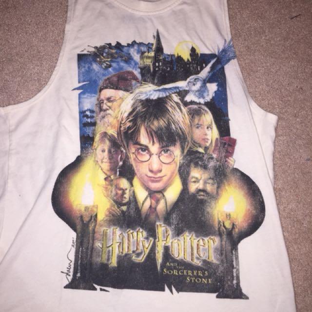 Harry Potter muscle tank
