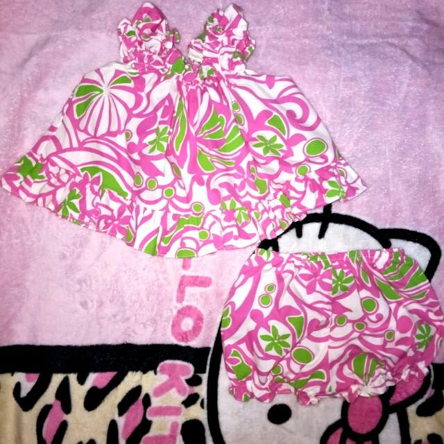 Hawaiian oufit pink
