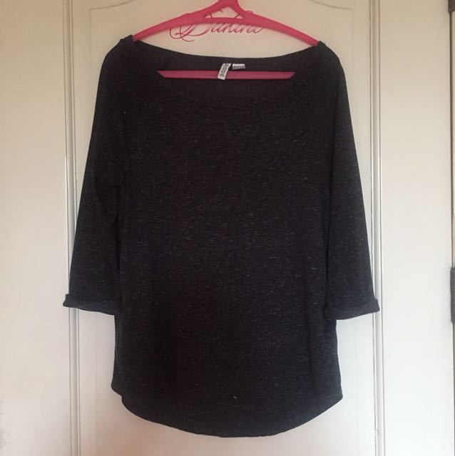 H&M 3/4 Sleeve Top