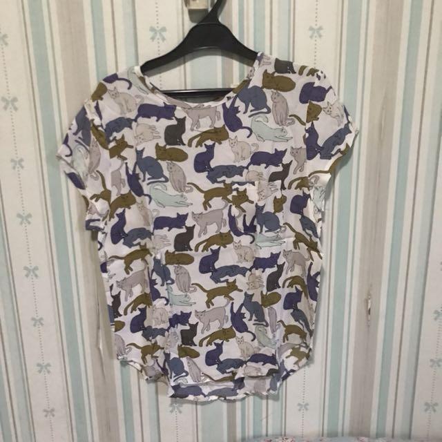 H&M Cat Shirt