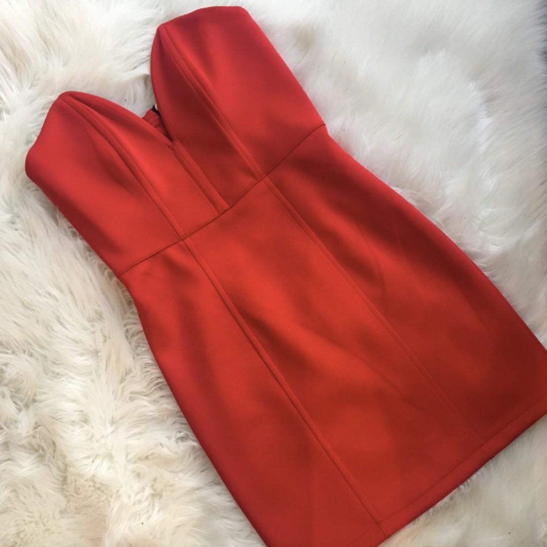 H&M Low cut dress