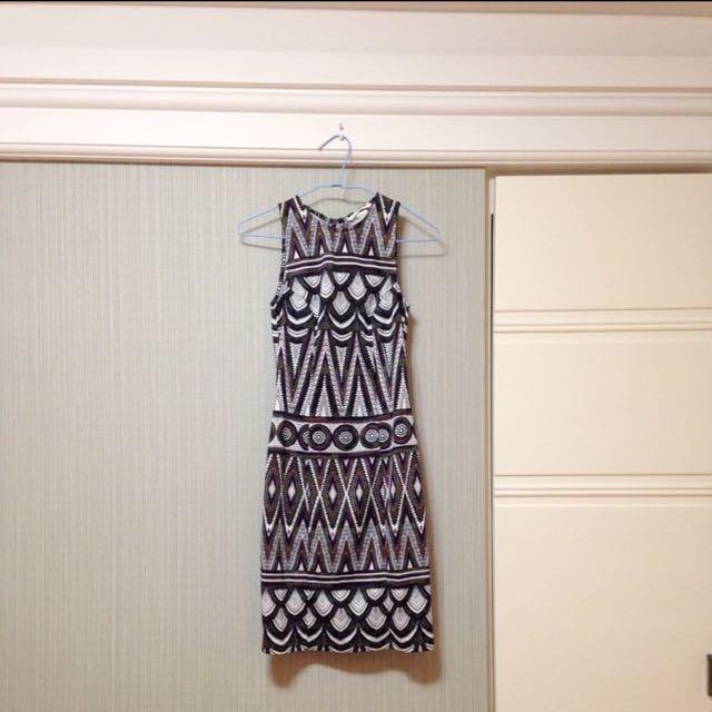H&M露背洋裝xs