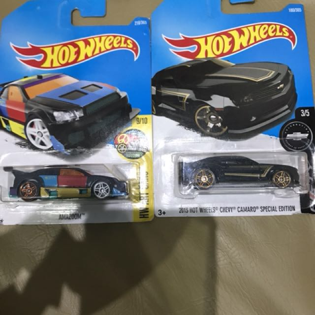 Hot wheels amazoom camaroo special edition