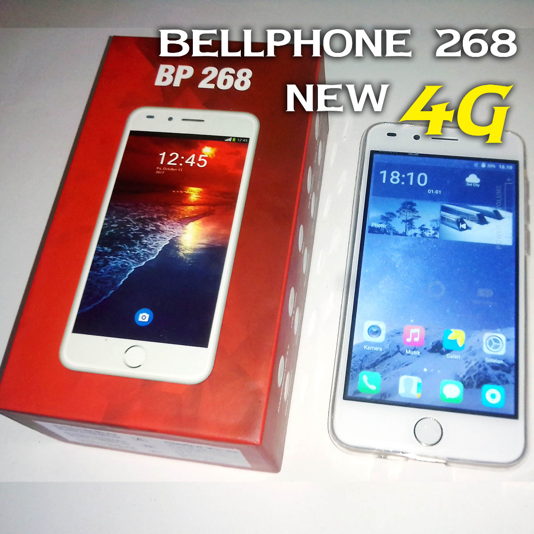 HP android 4G Termurah Ram 1gb Bonus Softcase dan anti gores Bp 268 WG