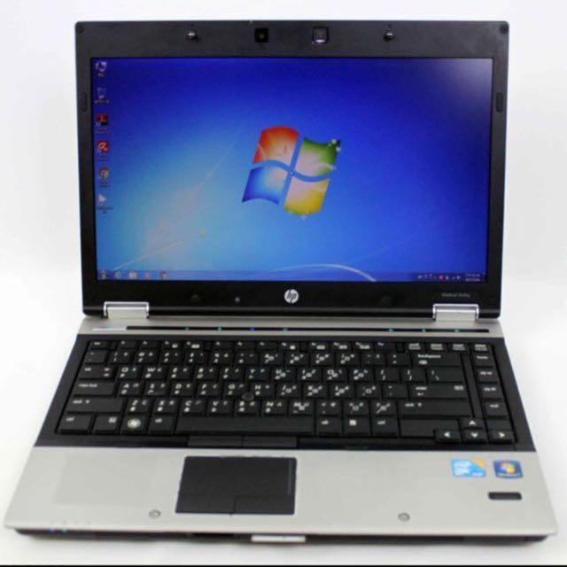 hp elitebook 8440p 14吋 筆電 附原廠電腦包