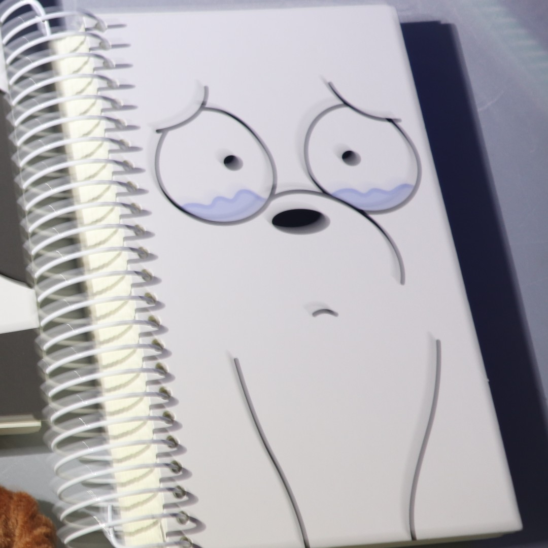 Ice Bear We Bare Bears Notebook Miniso Looking For On