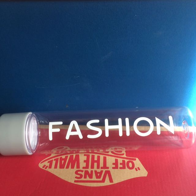 Infuse water fashion bottle