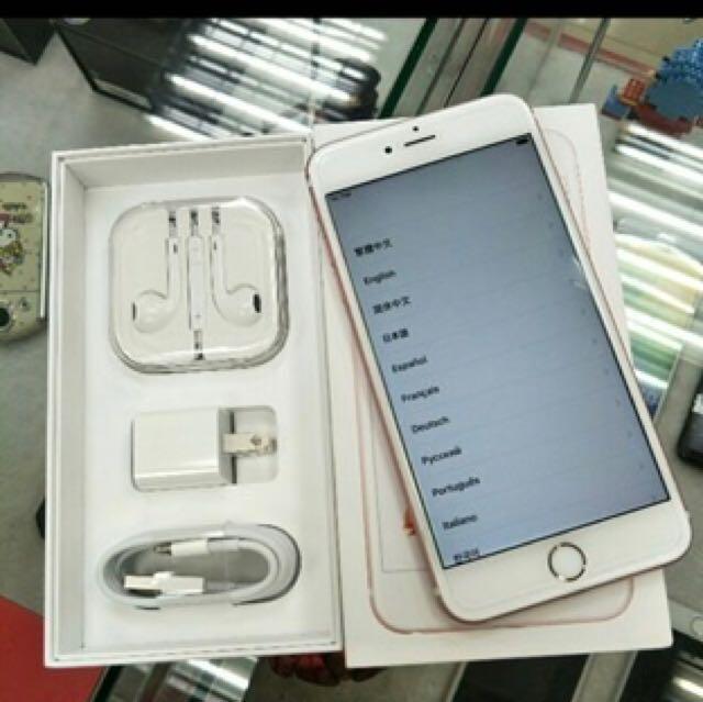 中古iphone6S.16G.玖瑰金.95新.可交換