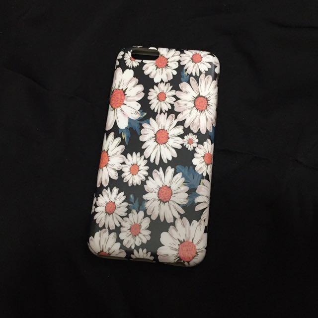 iphone6/s 手機軟殼 菊花