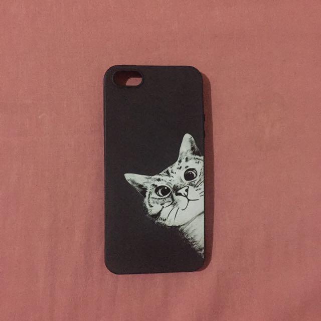 Iphone 5/5s case (cat)