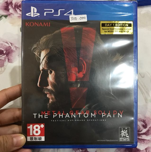 Kaset PS4 Metal Gear Solid V : the phantom pain
