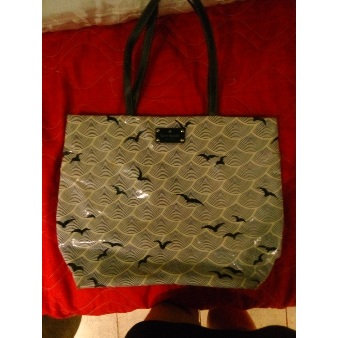 Kate Spade bird design bag