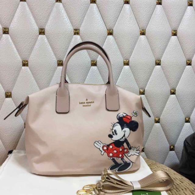 Kate Spade Minnie Mouse Lyla Print Tote Bag