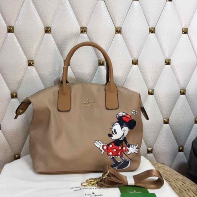 Kate Spade Minnie Mouse Print Lyla Tote Bag