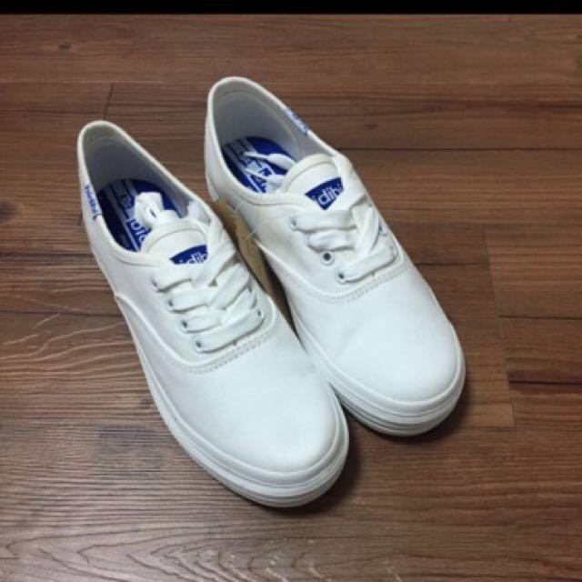 Keds同款 厚底小白鞋