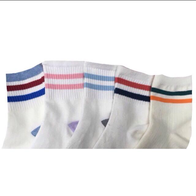 Korean Varsity Socks