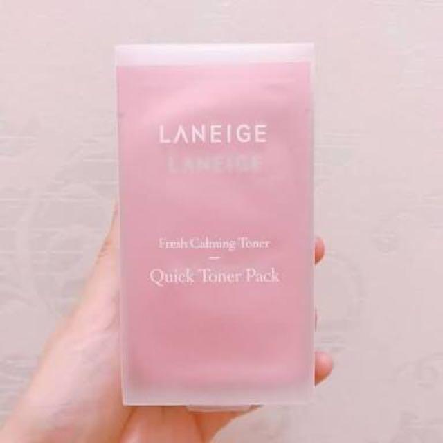 Laneige Fresh Calming Quick Toner Pack