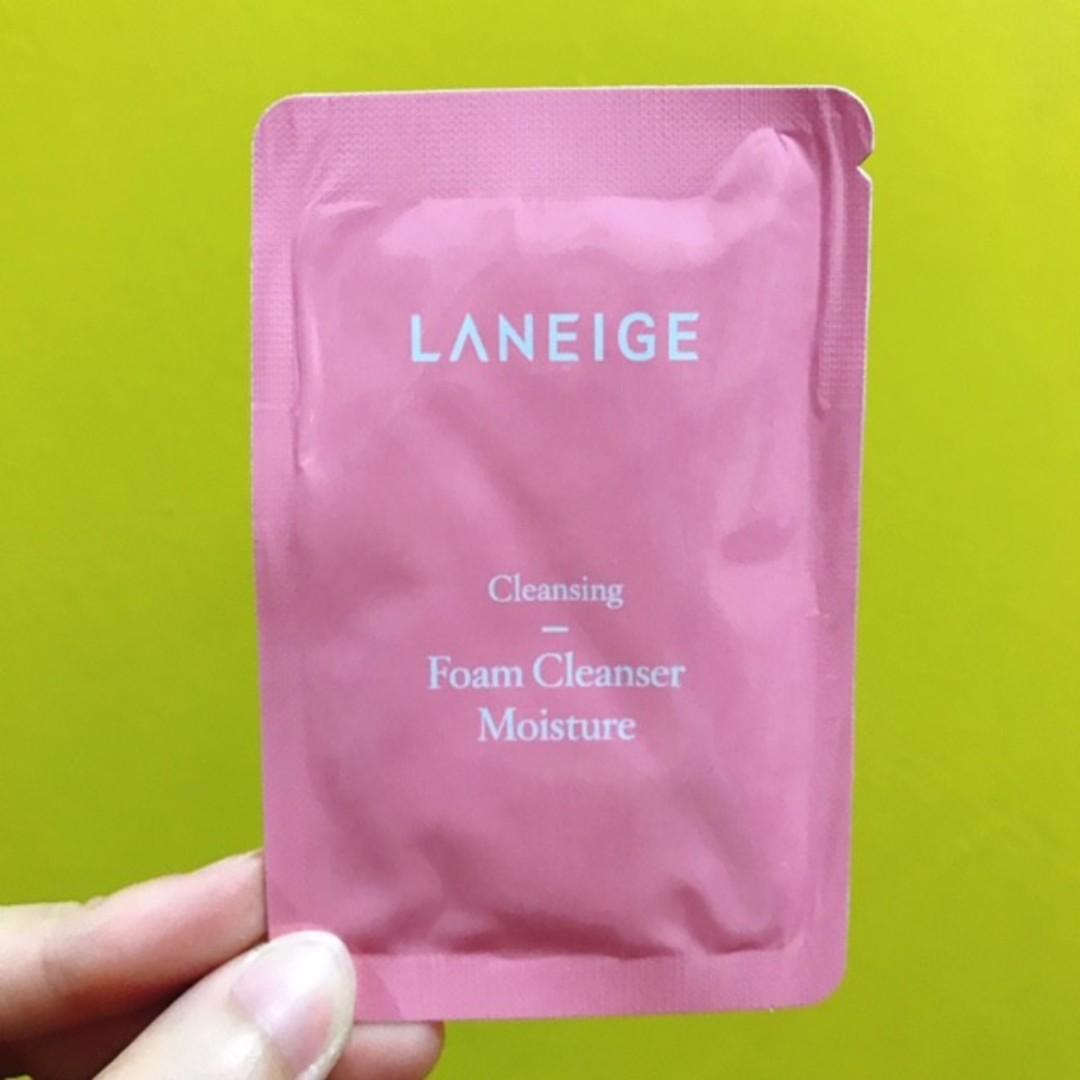 Laniege Foam Cleanser Moisture