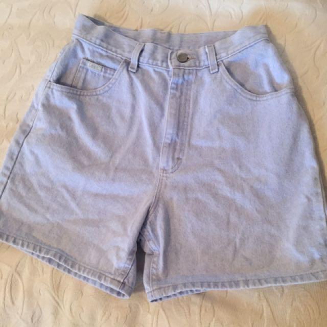 Lee High Waisted Shorts Size Medium