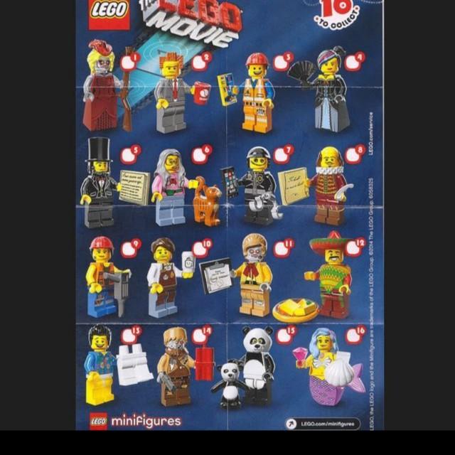 Lego 71004 Movie Series Minifigures Full Set Of 16pcs Toys Games Bricks Figurines On Carousell