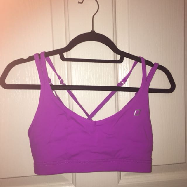 Lorna Jane sports bra crop, size S