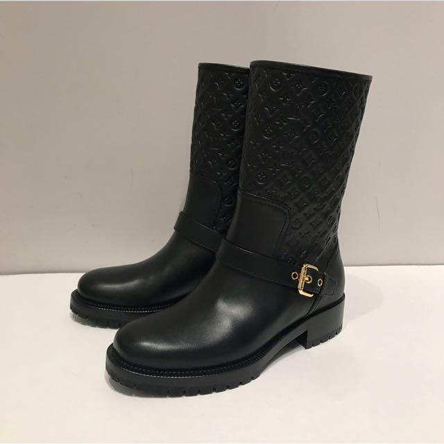 Louis Vuitton Leather Boots