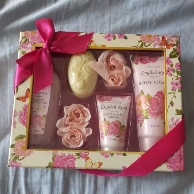 English Rose Bathset