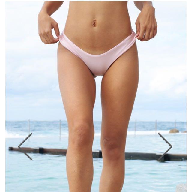 Low down bikini bottom