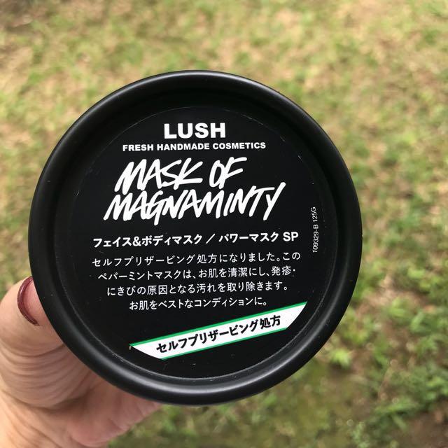 LUSH Mask of Magnaminty - Self-preserving 125gr
