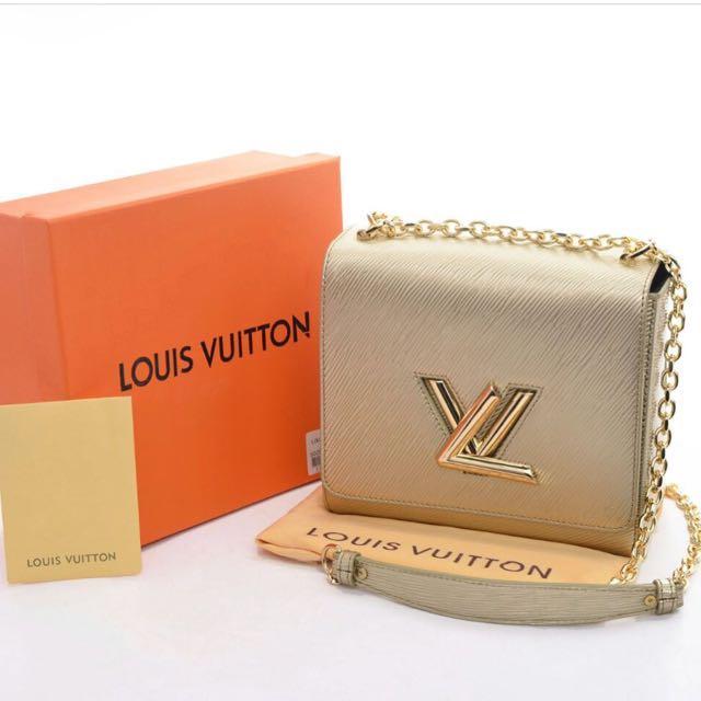 LV Twist Lock Bag / Tas Louis Vuitton Semprem