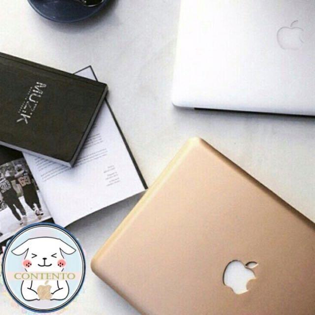 "Macbook Case Gold/Rose Gold 13"" (AIR/PRO/PRO RETINA)"