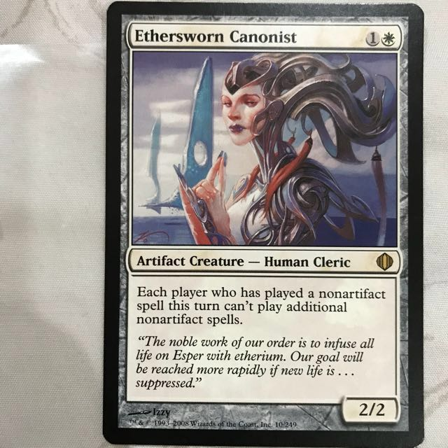 Magic the Gathering Ethersworn Canonist