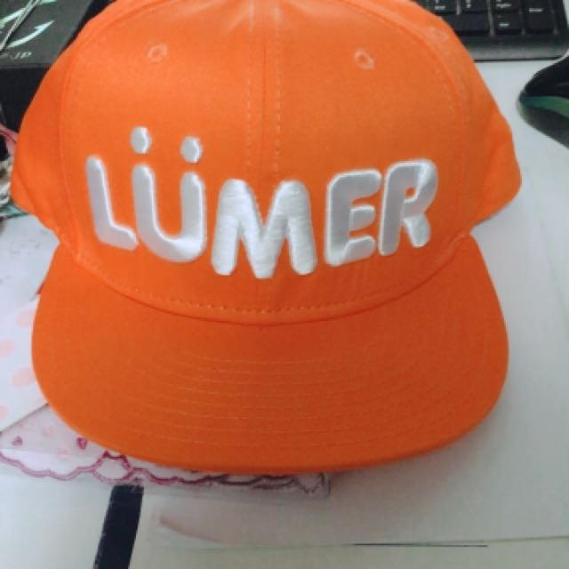 Major 橘色棒球帽