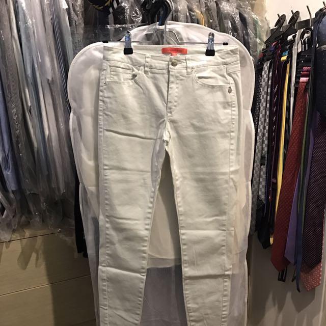 Mango Off-white Skinny Jeans