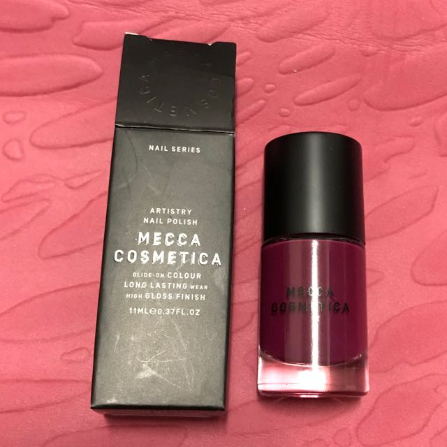 Mecca cosmetica artistry nail polish - Audrey
