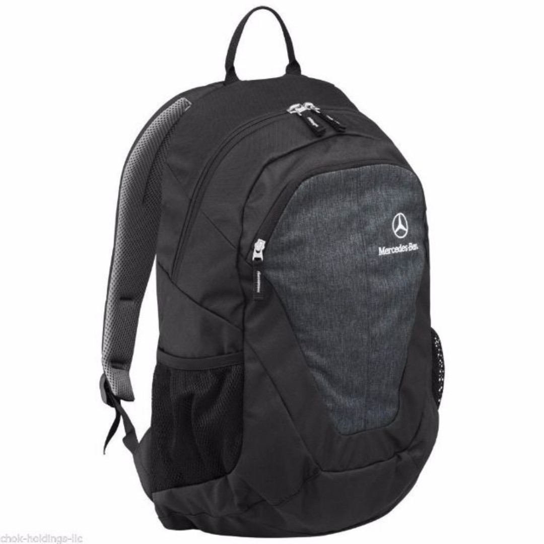 Mercedes Benz Backpack Grey Brand New w Laptop compartment