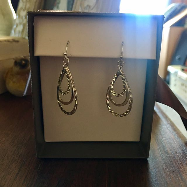 Michael Hill Silver Earrings
