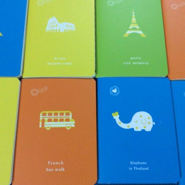 Mini Thin Notebooks