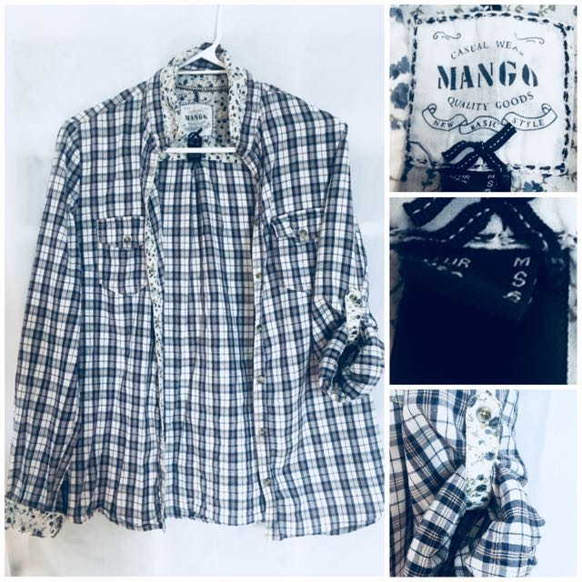 MNG Roll-up Shirt