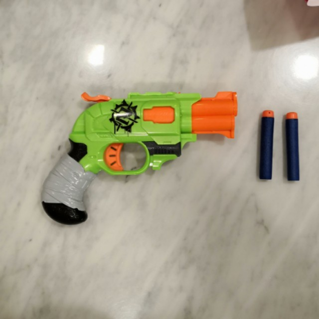 Nerf zombie strike double strike blaster w/ darts (Games & Toys) in  Woodbourne-Hyde Park, OH