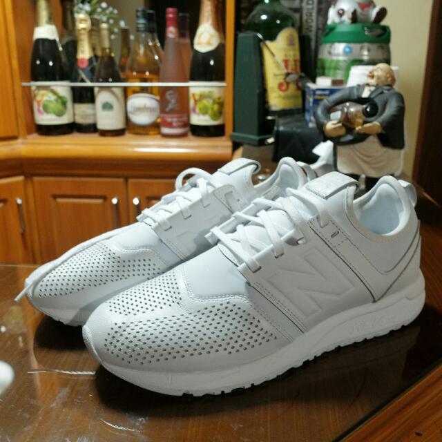 New Balance 247 White Shoes